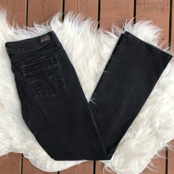 Levi's Denim - Levi Black Denim 515 Bootcut Jeans